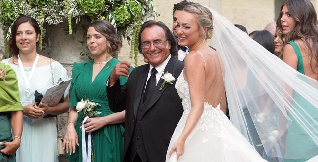 Matrimonio Crstel Carrisi