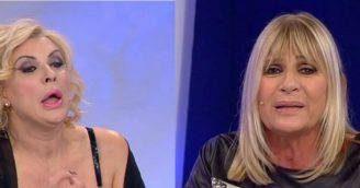 Uomini e donne shock: rissa in studio tra Gemma e Tina