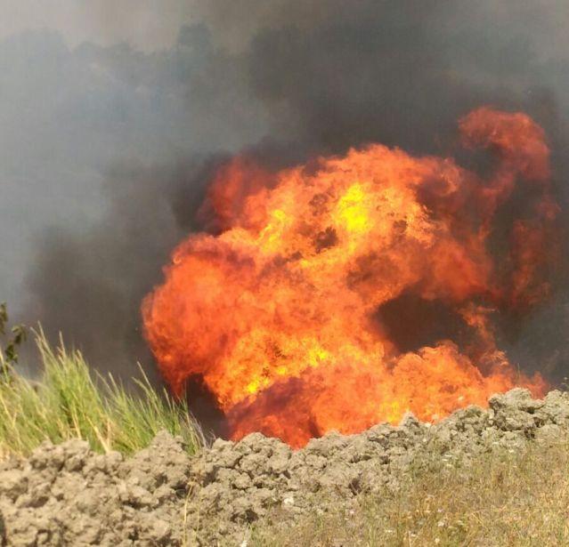 incendio a Paglieta